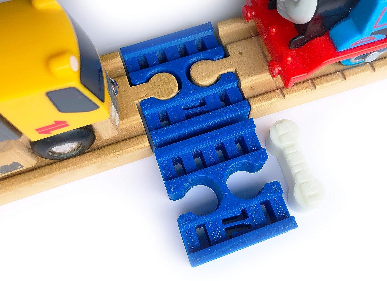 人気 TrainLab トラックコネクター B07GDVCRS9 メスからメス TrainLab 木製レール。 ブルー 犬の骨のトラックコネクタが2つ含まれています。 WR-CON-F2F B07GDVCRS9 ブルー ブルー, アイラグン:669f8a6d --- diceanalytics.pk