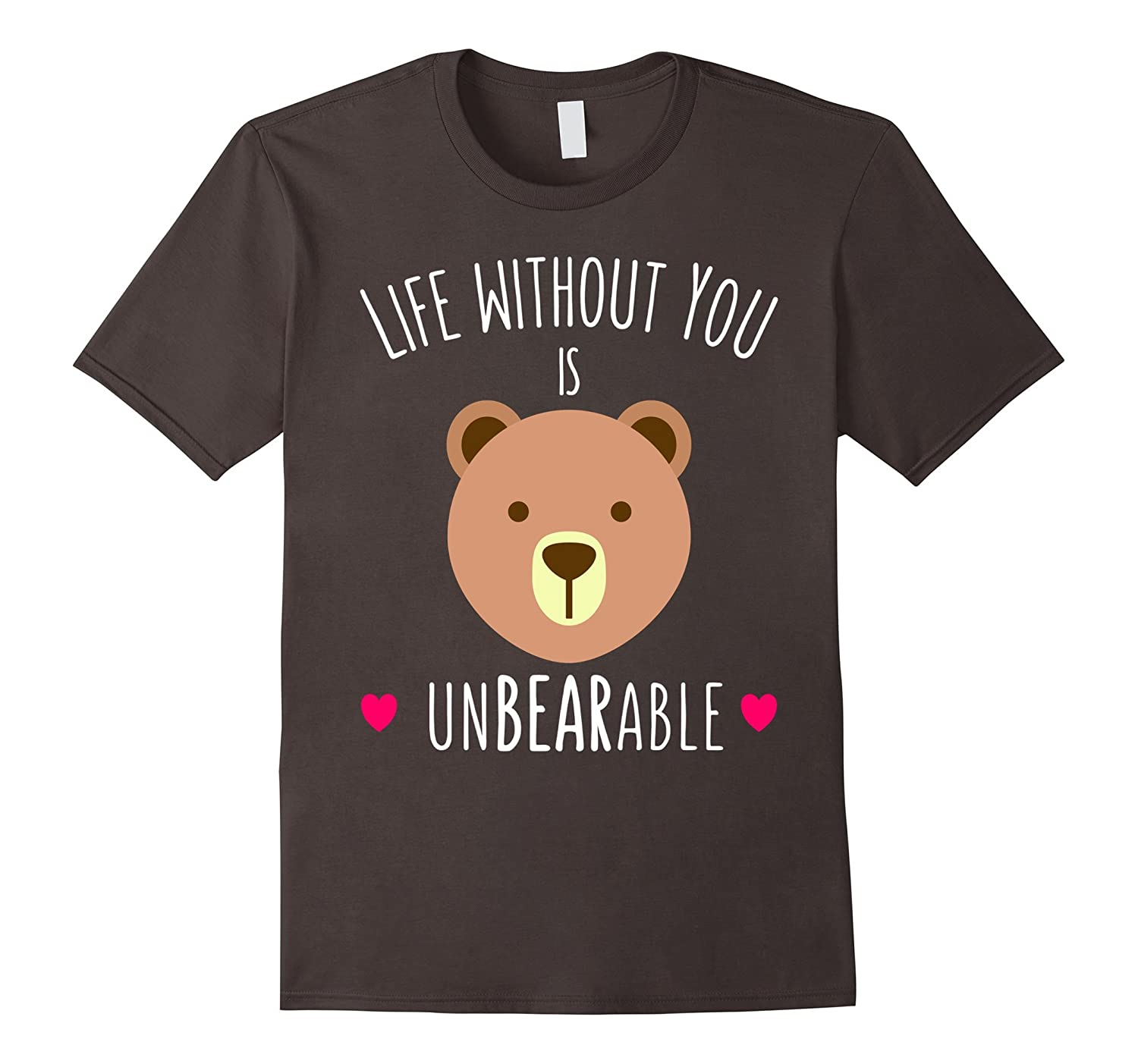 Funny Valentines Day Gifts For Her Him Unbearable Shirts Cl Colamaga