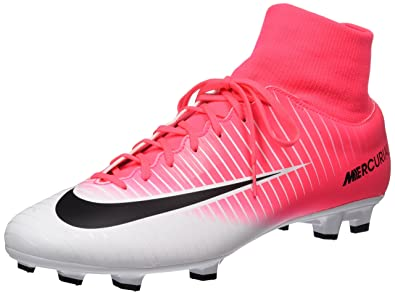 NIKE Mercurial Victory VI DF FG Cleats [Racer Pink] (8.5)
