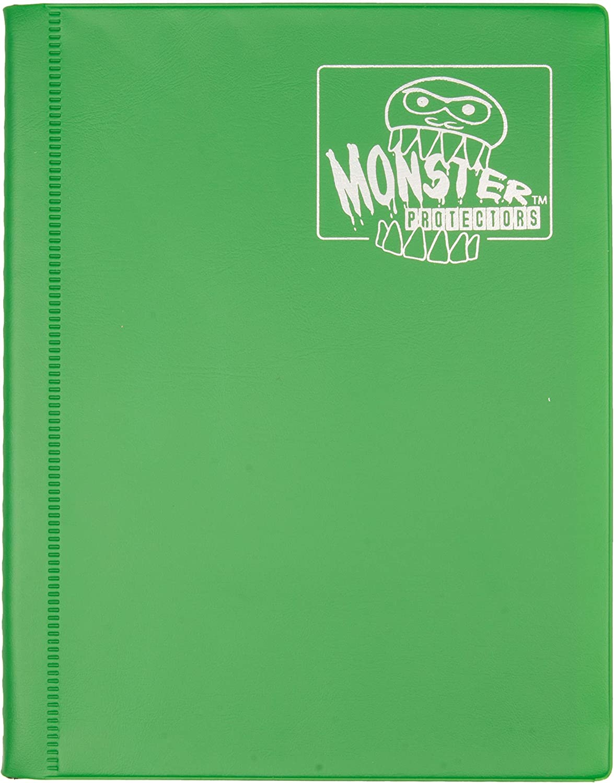 Trading Card Binder Standard Size Trading Card Holder Protector Album 360 Pockets Green