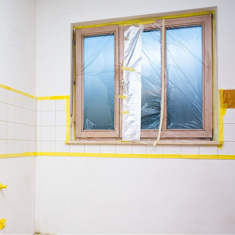 KIPPEN 1220 B/âche de protection universelle 4 x 4 16 m/² transparent
