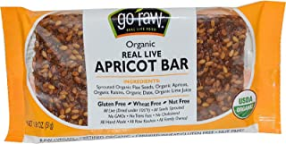product image for Go Raw, Organic Real Live Apricot Bar, 1.8 oz (pack of 2)