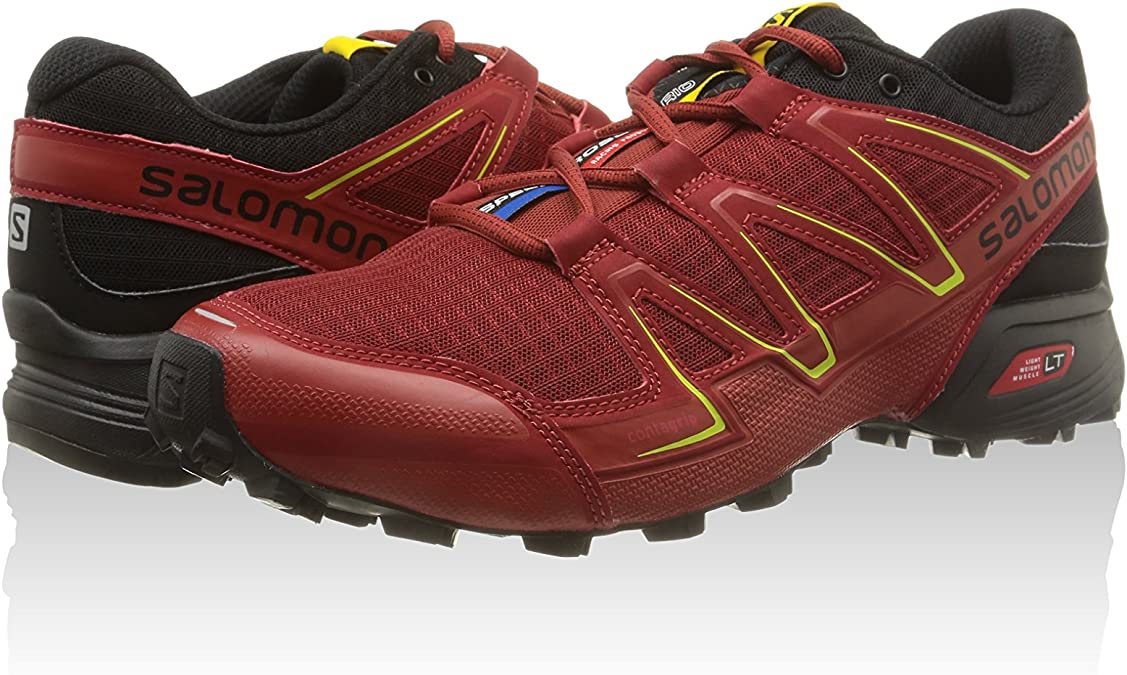 Salomon Rosso Scuro EU 40 (UK 6.5): Amazon.es: Zapatos y complementos