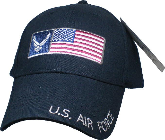 9c91d48cbe902 Amazon.com  U.S. Air Force American Flag Baseball Cap