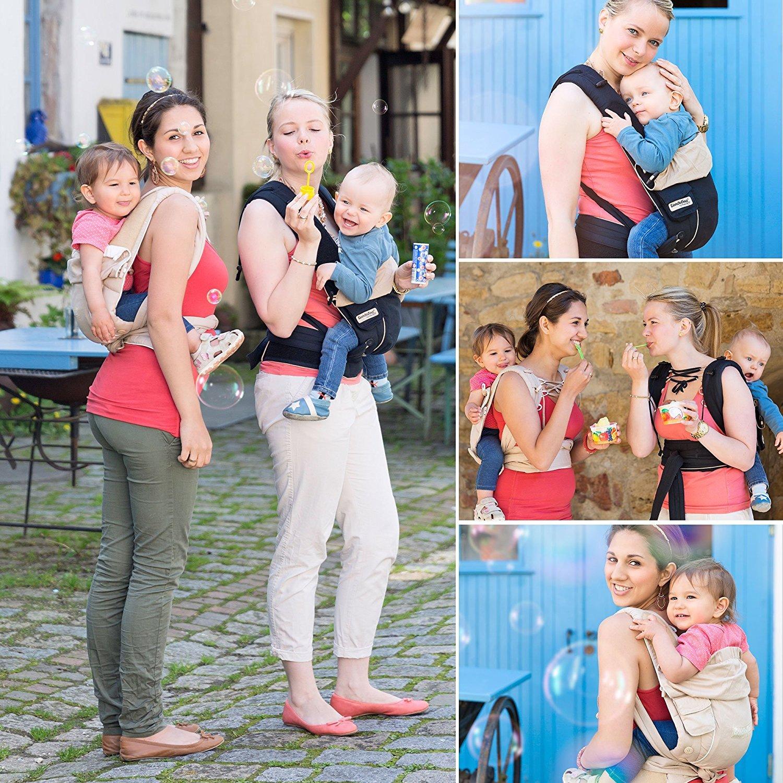 Bondolino Babytrage inklusive Bindeanleitung Slim-fit marine-Stern