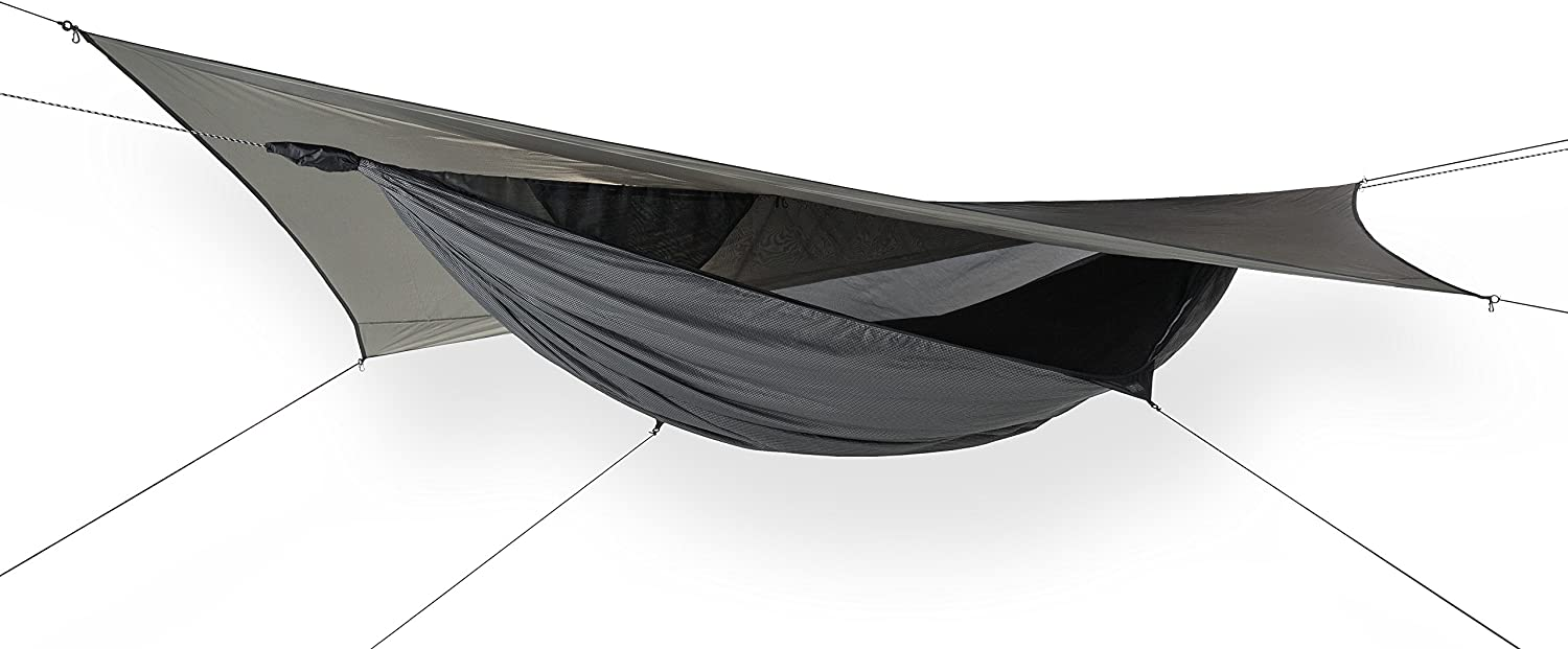 Hennessy Hammock – Deep Jungle Series – Premium Double Bottom Hammock for The Buggiest Jungles on The Planet