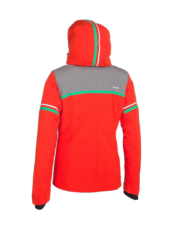 Veste ski rouge et noir
