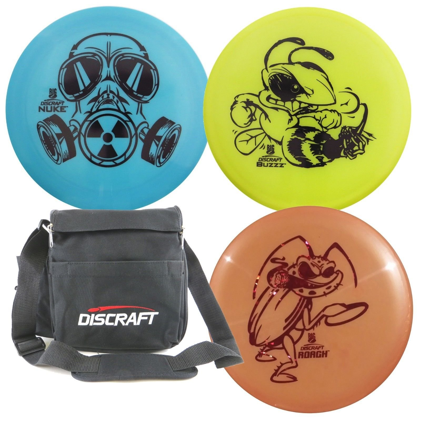 Discraft Disc Golf Big Z Starter Package