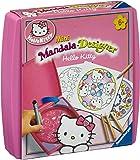 Ravensburger 29983 Hello Kitty Mini Mandala Designer® - Juego para colorear con plantillas [Importado de Alemania]