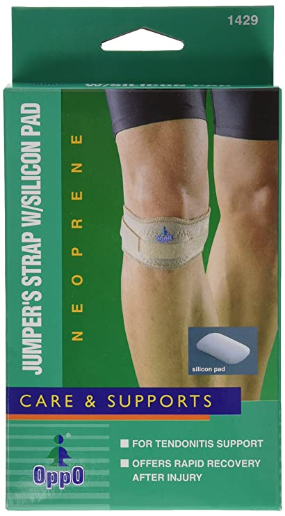 Buy Jumper\'s Patellar Tendon Strap with Silicone Pad Online at Low ...