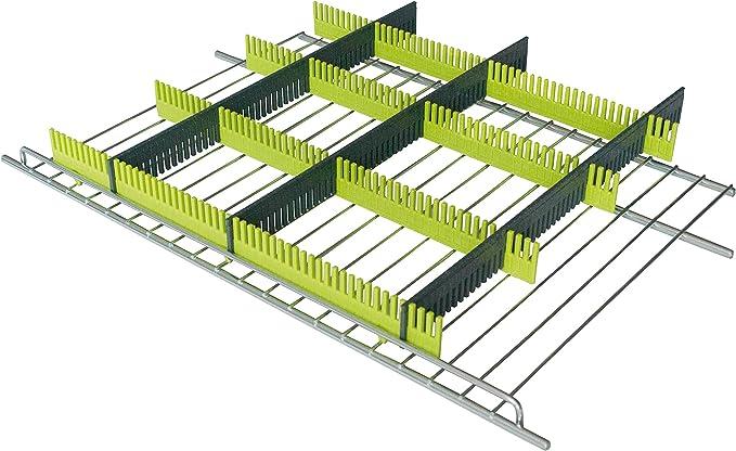 PurVario Stauleisten-Stecksystem f/ür K/ühlschr/änke 8er Set