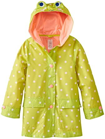 0371932a7 Amazon.com  Carter s Little Girls  Frog Rain Slicker