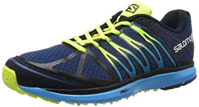 separation shoes 7173d 21732 Salomon Men s X-Tour Running Shoe,Midnight Blue Black Boss Blue,