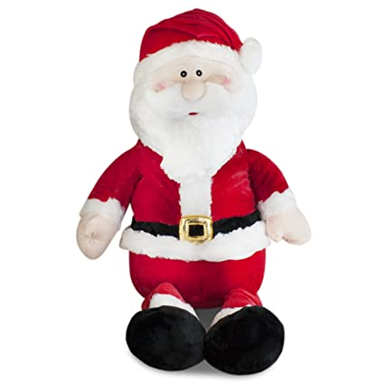 bffb4326324b7 Amazon.com  Gitzy Jumbo Stuffed Santa Plush 20