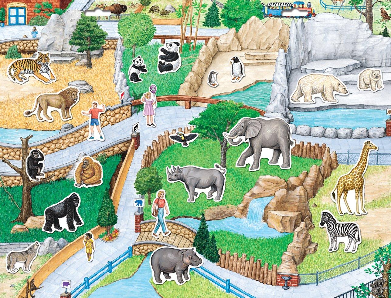 Поздравления днем, картинки зоопарка для детей