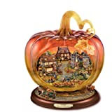 The Bradford Exchange - 'Reflections Of A Harvest Season' Centrepiece by Thomas Kinkade