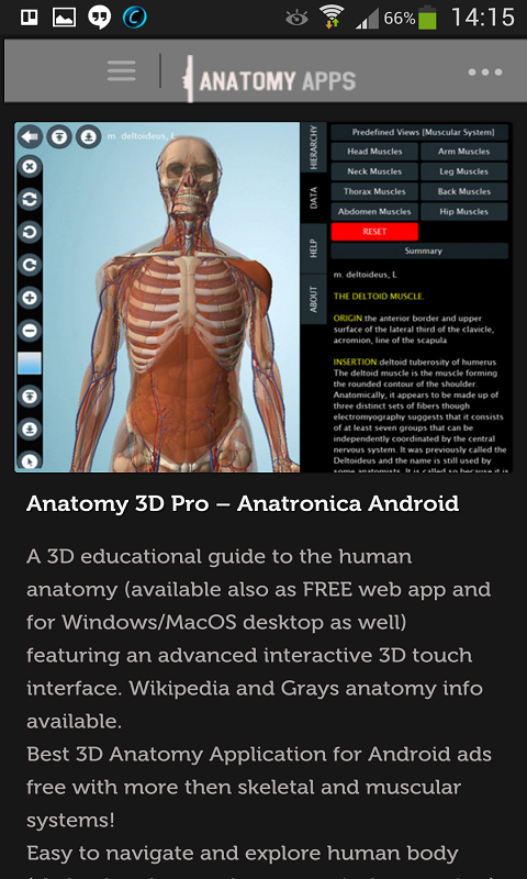 Amazon Anatomy Apps Appstore For Android
