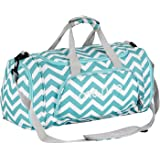 Mosiso Canvas Fabric Foldable Travel Luggage Duffels Shoulder Bag  Lightweight for Sports 134cc75a1beef