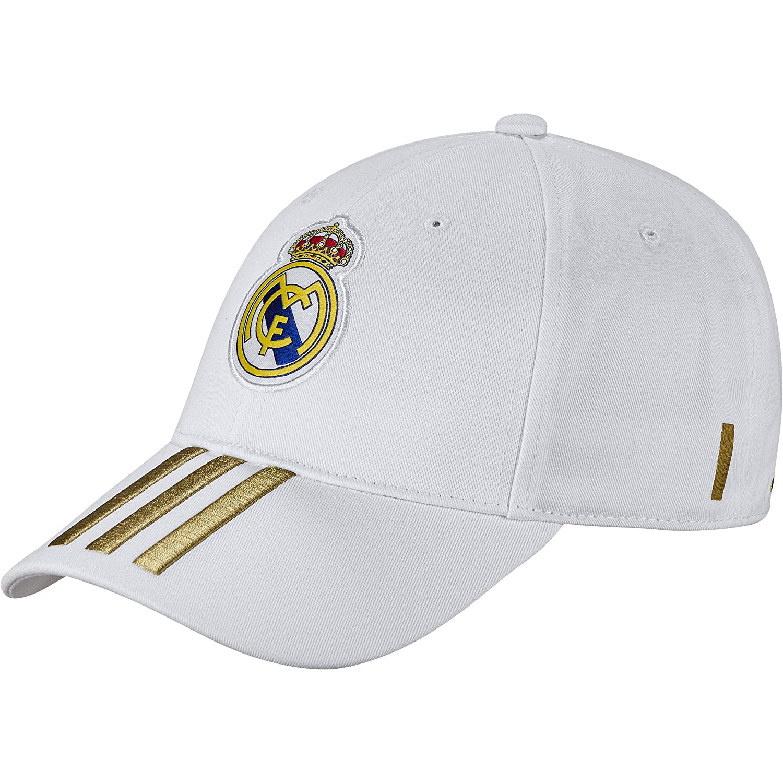 adidas C40 Cap Gorra Real Madrid, Unisex Adulto, Blanco/Orfúos ...