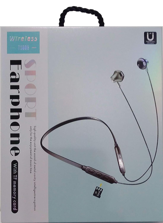 Auriculares Deportivos inalámbricos TS008 con Ranura Micro SD y ...