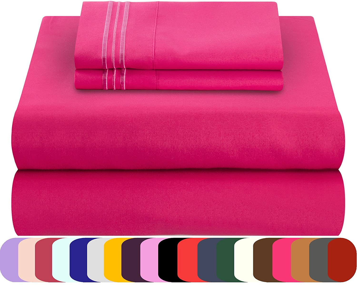 Mezzati 100% Polyester Bed Sheets