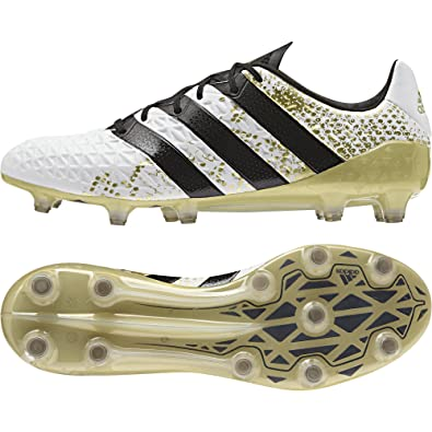 4e122e7e5 adidas ACE 16.1 FG Boot Football for Men, 47 1/3, White: Amazon.co.uk:  Shoes & Bags