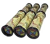 SPADORIVE 3 Pack Magic Kaleidoscope Toy for Kids