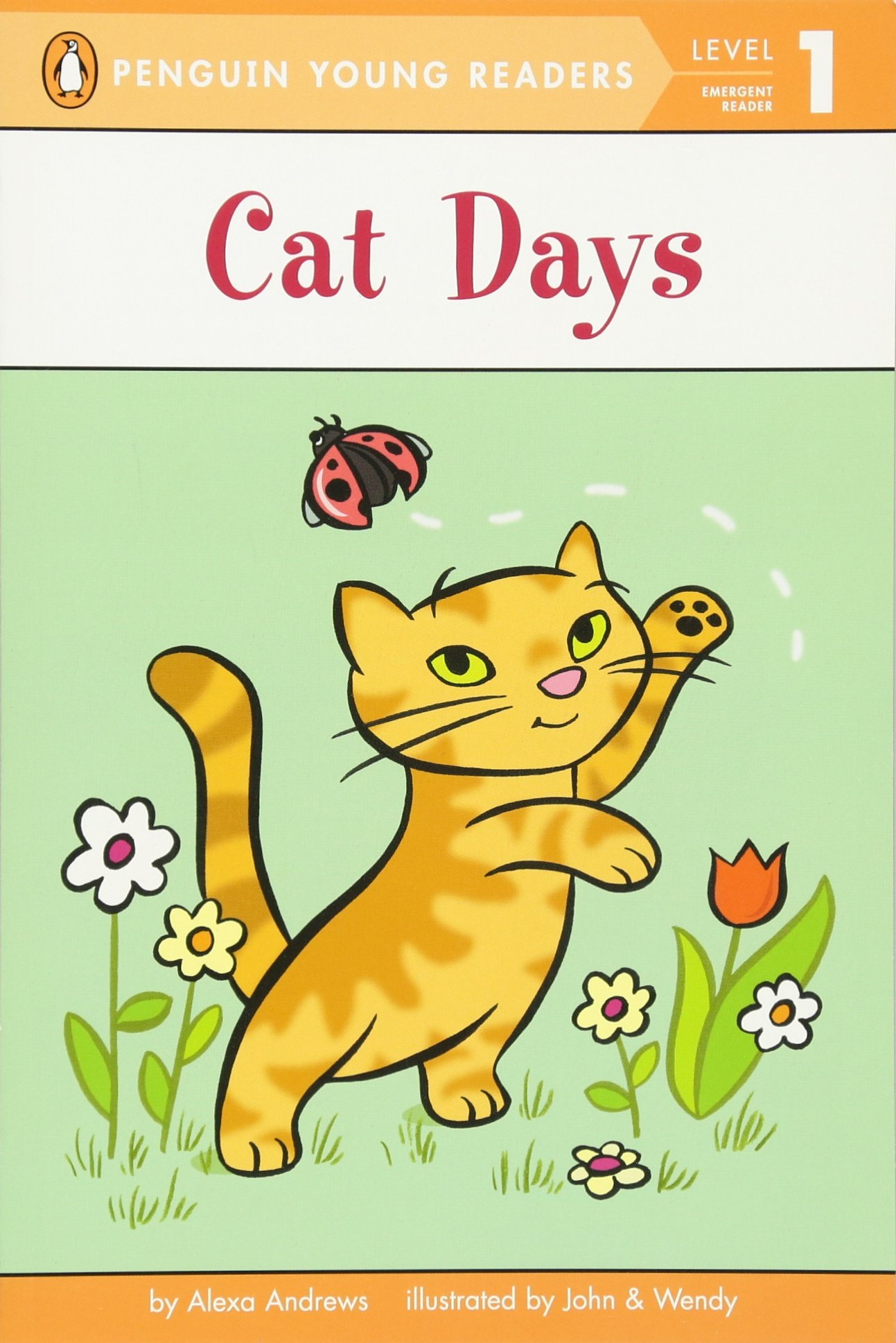 Amazon.com: Cat Days (Penguin Young Readers, Level 1) (9780448463056 ...