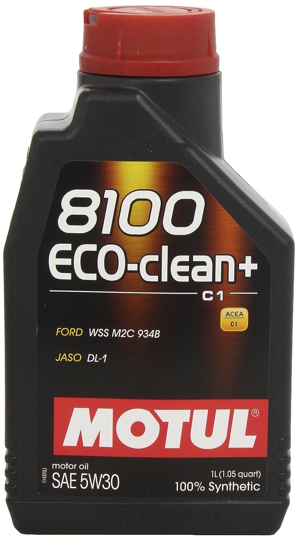 Motul 8100 Eco-clean+ 5W-30 101580 - Aceite de motor: Amazon.es: Coche y moto