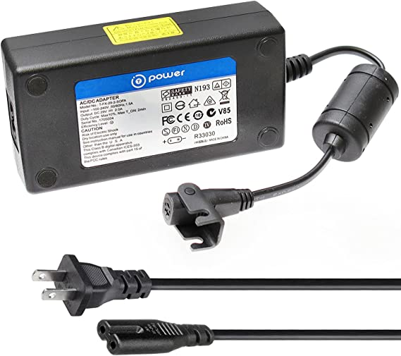 Digipartspower AC DC Adapter for AKiTiO AK-TBQ-TIAA-AKTU TBQ-TIAA-AKTUH TBQ-TIAA-AKT1UH TBQTIAAAKT1UH TBQ-TIAA-AKT2UH Thunder2 Quad Thunderbolt-2 Enclosure Power Supply Cord Cable PS Charger