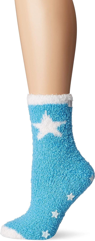Karen Neuburger Womens Super Soft Cozy Fluffy Warm Lounge Sock with Grippers
