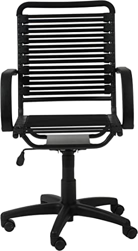 Euro Style Flat Bungie High Back Adjustable Office Chair