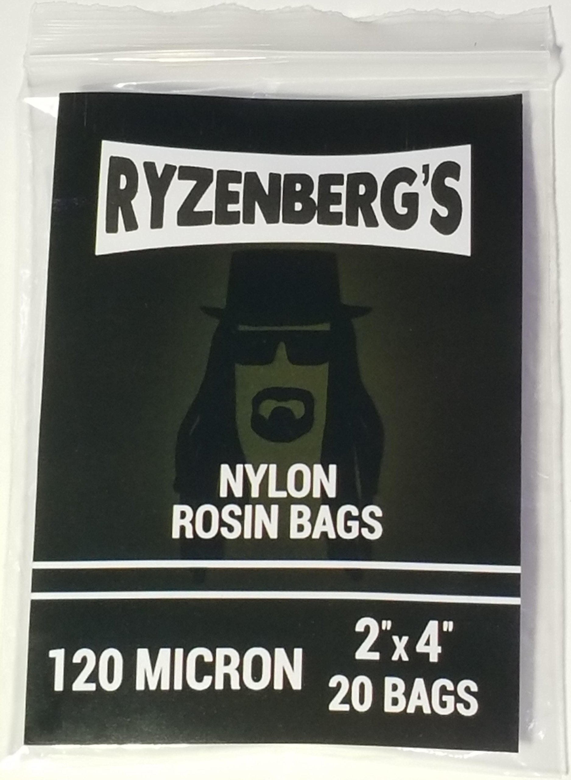 120 Micron+ Rosin Press Bags Filters + 2'' x 4'' Different Micron Sizes Available