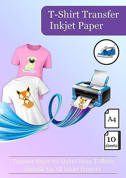 A4 (210 x 297 mm) Transferencias de papel para impresora de ...