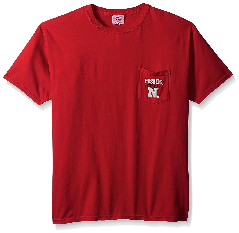 優先配送 NCAA B01MXYXNBF Nebraska Cornhuskers野球フレーム半袖ポケットTシャツ NCAA Nebraska、ミディアム、レッド B01MXYXNBF, ナカジョウマチ:4c370d78 --- a0267596.xsph.ru