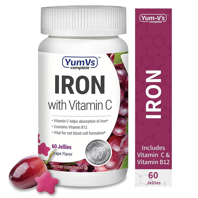 YUM-V's Complete Iron w/ Vitamin C Jellies