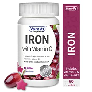YUM-V's Complete Iron w/ Vitamin C Supplement