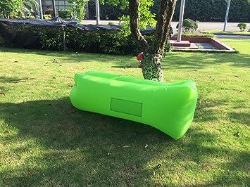 JD bolsa inflable sofá tumbona silla portátil saco de dormir para Camping, camas de aire
