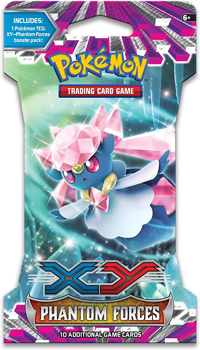 Pokémon Trading Card Game: XY-Phantom Forces Booster Pack: Amazon.es: Juguetes y juegos