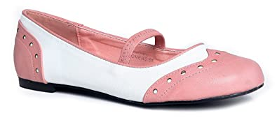 latest discount top brands 50% price Winona Retro Mary Jane Ballet Flats | Cute Pinup 1950's Mary Janes |  Scallop Black Vintage Vegan Shoes