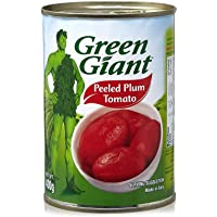 Green Giant Canned Whole Peeled Plum Tomatoes - 400 gm