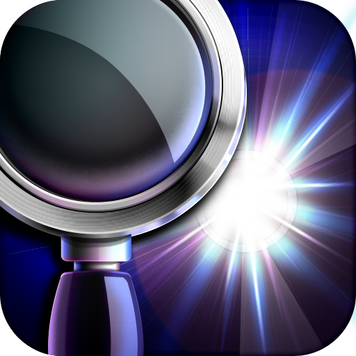 Magnifying Glass Flashlight - Glasses App