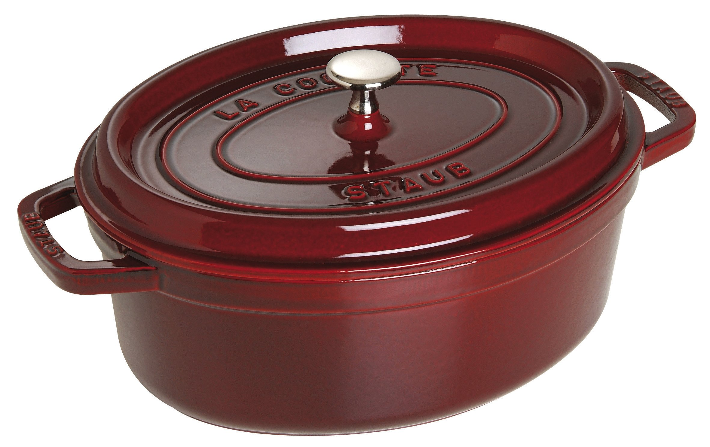 Staub French Oven - Oval - 5.4 L - Grenadine