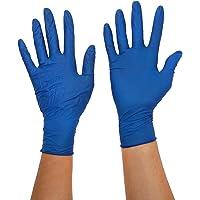 Gentle Touch 0506 Guante Desechable de Nitrilo, Talla L, Azul Oscuro