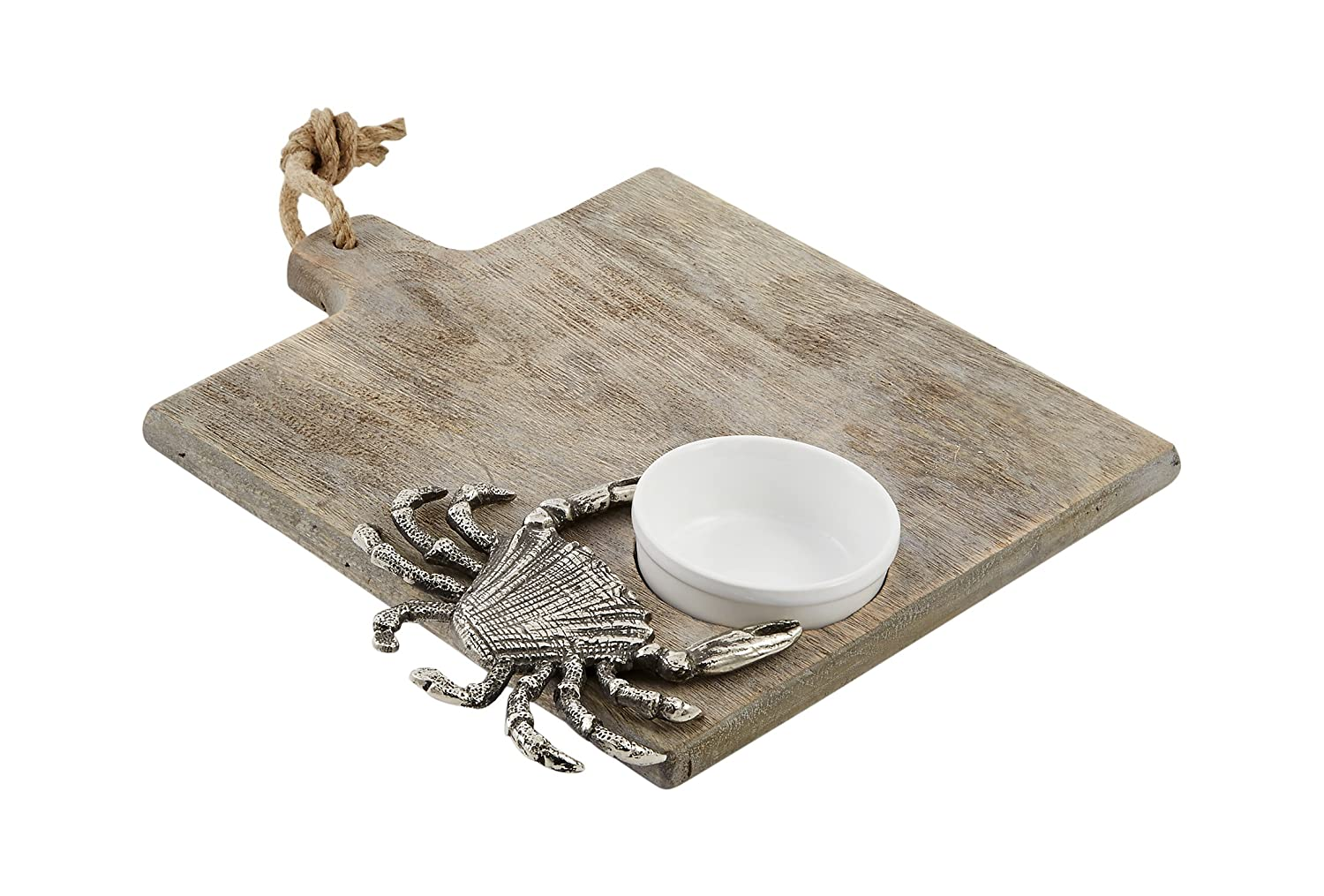 Crab Gray Cutting Board Set by Mud Pie