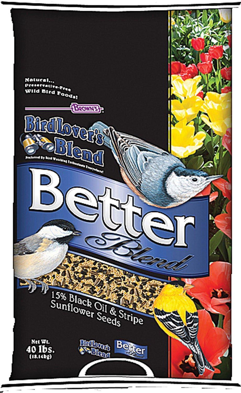 F.M. Brown'S Bird Lovers Blend, 40-Pound, Better Blend