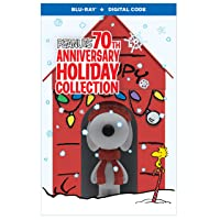 Deals on Peanuts 70th Anniversary Holiday Collection LE Blu-ray