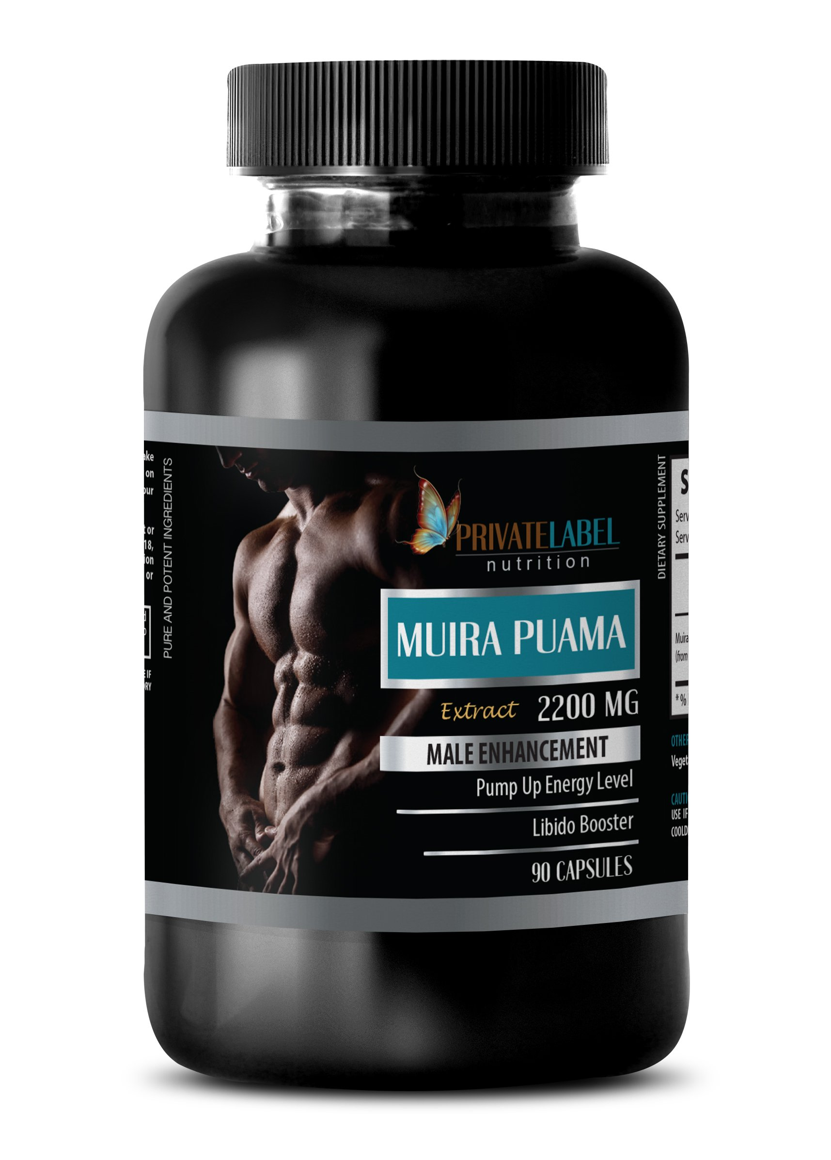 pills for men for sex - MUIRA PUAMA EXTRACT 2200Mg - MALE ENHANCEMENT - brain and memory power boost - 1 Bottle (90 Capsules)