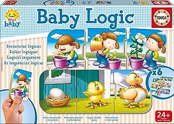 Educa Juegos - Baby Logic, Juego de Mesa (15860): Amazon.es ...