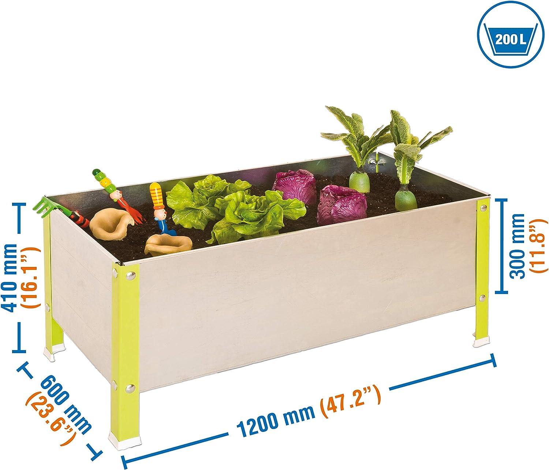 Simonrack - Urban Garten 410X1200X600 Grün/Verzinkt - 200L